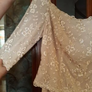 Beautiful off shoulder formal dress Size 14